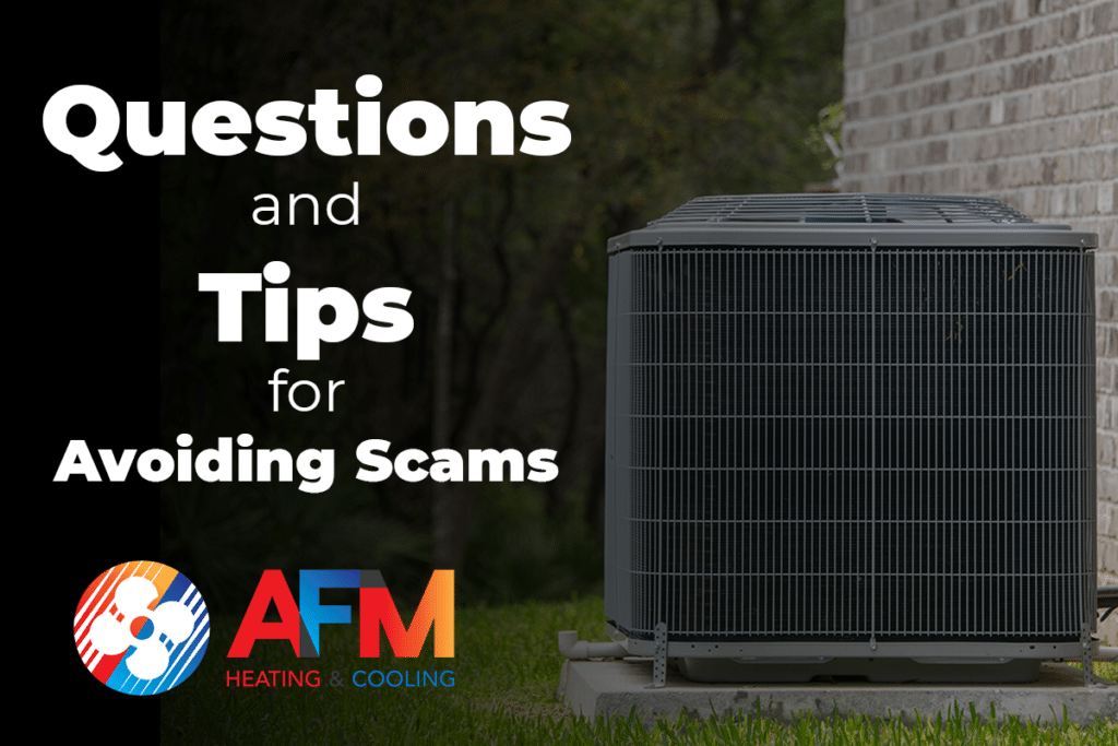 Questions and Tips for Avoiding Scams