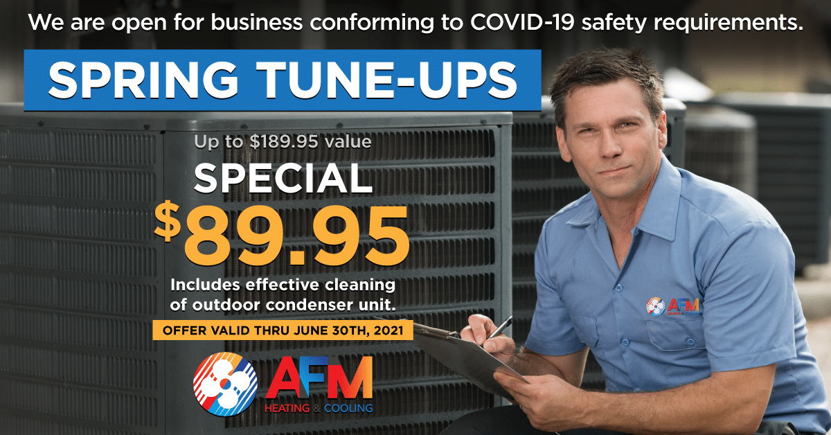 Spring 2021 Special: Spring Tune-Up for $89.95